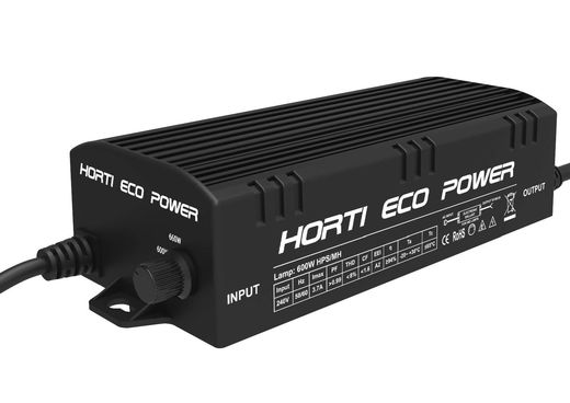 600W Elektroninen virtalähde Horti Eco Power