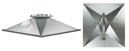 Pyramid Optomiser heijastin 95% 680x624mm E40